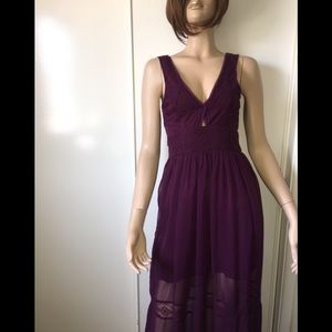 Urban outfitter maxi dress purple 0
